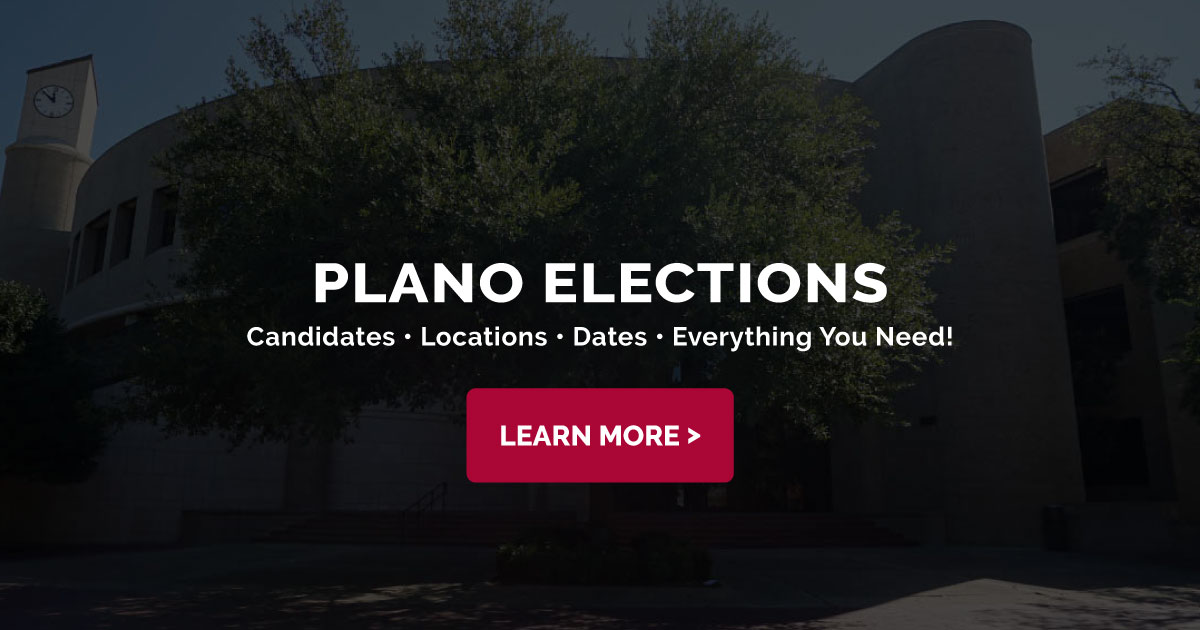 Plano Voting Locations - UPDATED for Runoff Elections | When