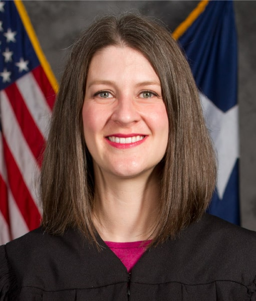 Judge Emily Miskel